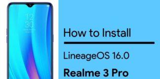 lineageos for realme 3 pro