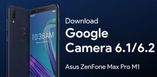 Google Camera for Asus Zenfone Max Pro M1