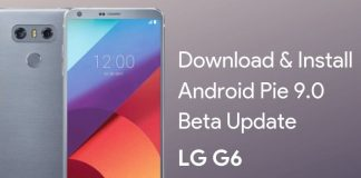 LG G6 Android Pie Beta Update