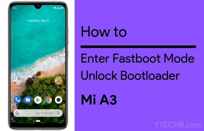 unlock bootloader on mi a3