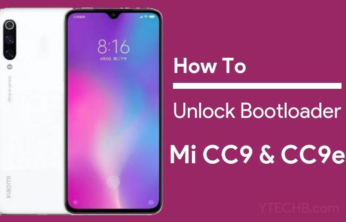Mi CC9 unlock bootloader