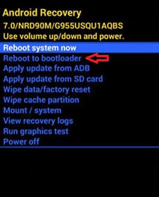 Nokia 3.2 Fastboot Mode