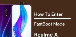 Fastboot Mode on Realme X