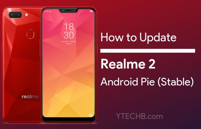 Realme 2 Android Pie update