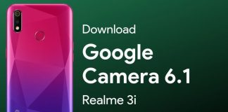 google camera for realme 3i