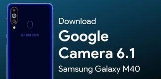 Download Google Camera for Samsung Galaxy M40