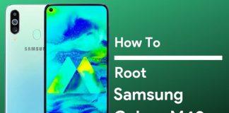 root galaxy m40