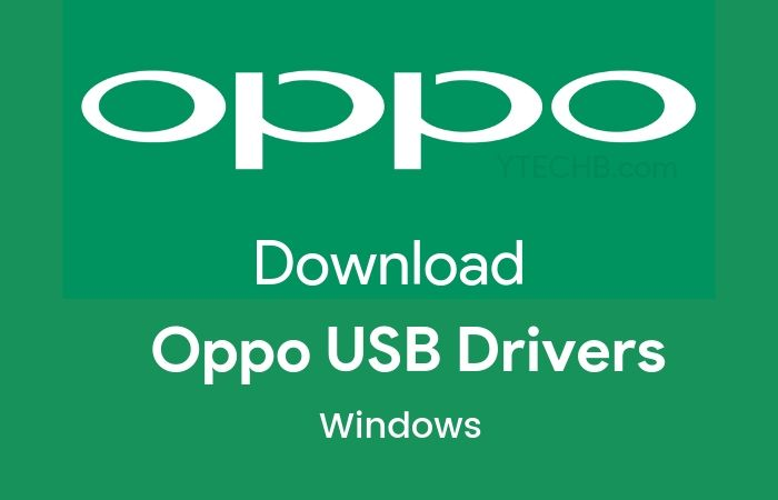 Download Oppo USB Drivers 2019 for All Devices [with