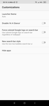 Android 10 Launcher