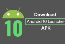 Android 10 Launcher APK
