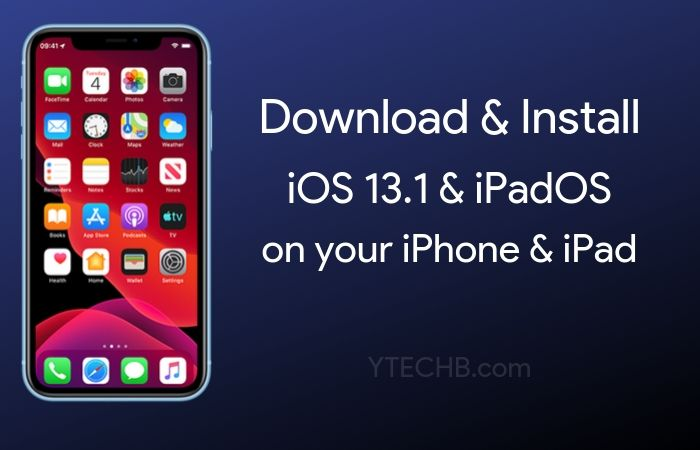 Download & Install iOS 13.1 on iPhones and iPadOS 13.1 on iPads