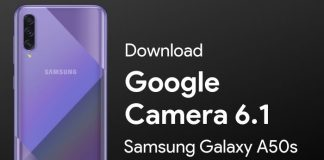 Google Camera for Samsung Galaxy A50s