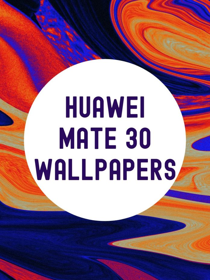 Here are All the Huawei Mate 30 Pro Wallpapers