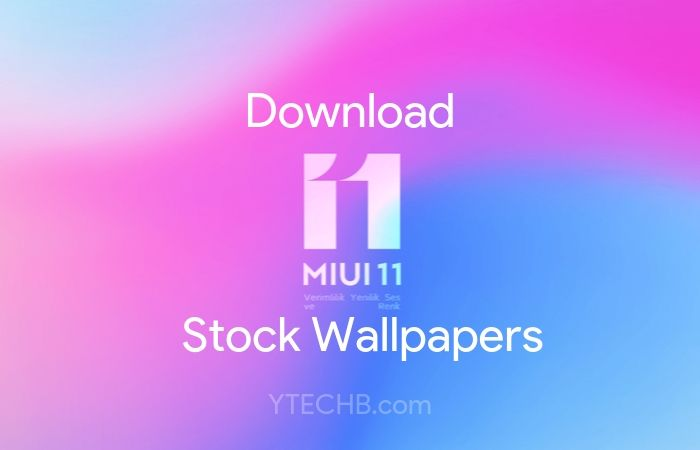 Download MIUI 11 Stock Wallpapers [FHD+]