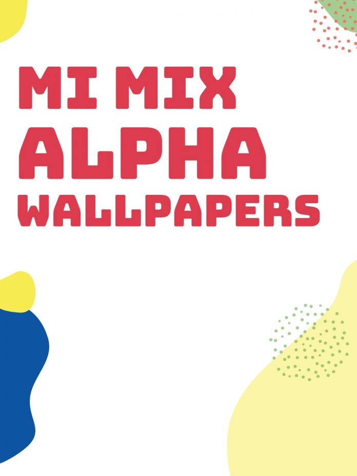 Here are All the Mi Mix Alpha Wallpapers