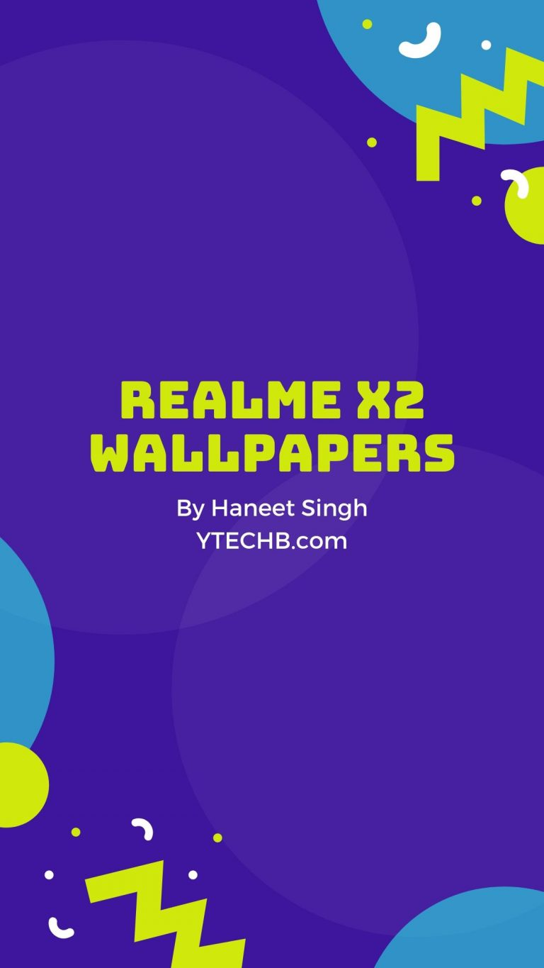 Here are All the Realme X2 Wallpapers