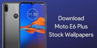 Moto E6 Plus Wallpapers