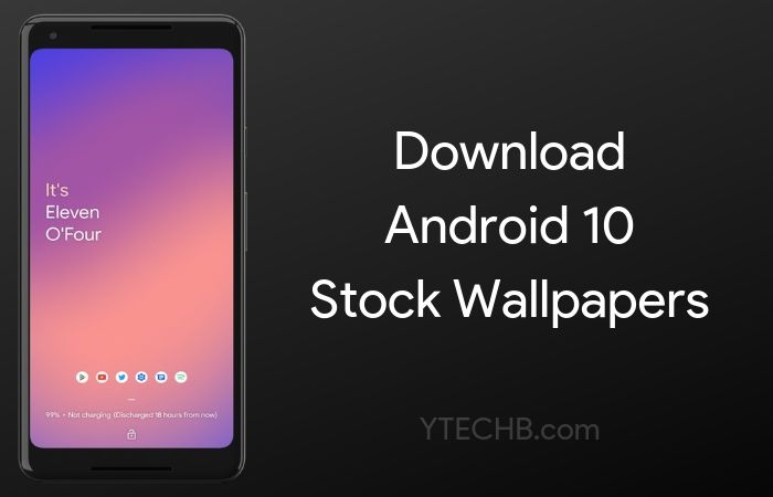 Download Android 10 Stock Wallpapers Fhd Android Q
