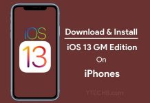Download iOS 13 GM for iPhones