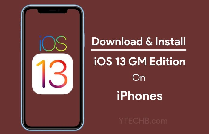 Download & Install iOS 13 GM on Your iPhone
