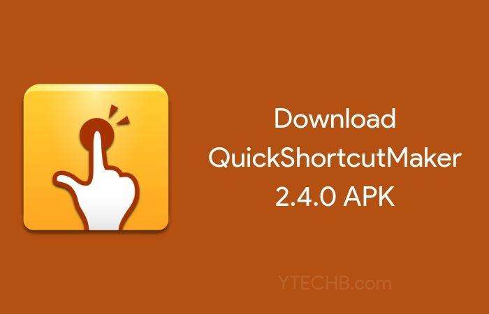 quick shortcut maker apk