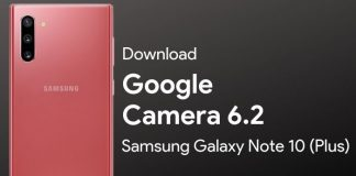 google camera for samsung galaxy note 10