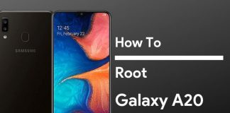 how to root galaxy a20