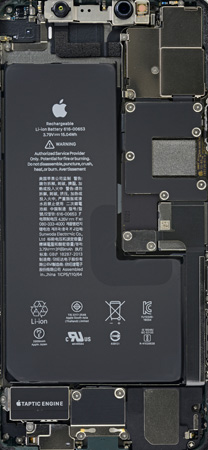 iPhone 11 Pro Max Teardown Wallpaper