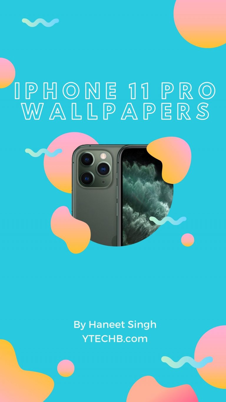 Here are All the iPhone 11 Wallpapers