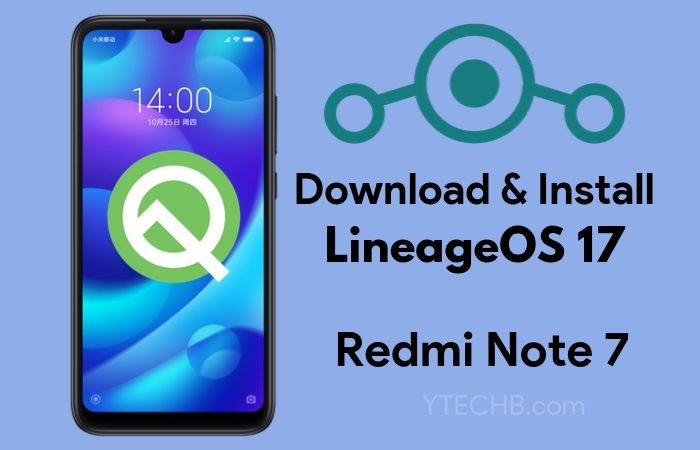 lineageos 17 for redmi note 7