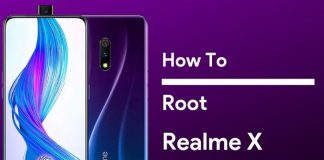 root realme x