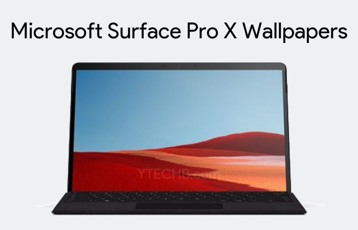 Download Microsoft Surface Pro X Wallpapers Fhd