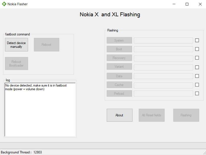 Nokia flash tool