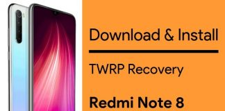 Redmi Note 8 TWRP Recovery