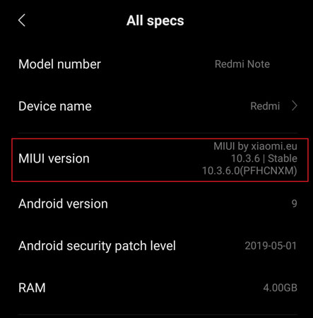 TWRP for Redmi Note 8