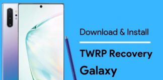 TWRP for Samsung Galaxy Note 10 Plus