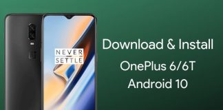 download oneplus 6 android 10 update