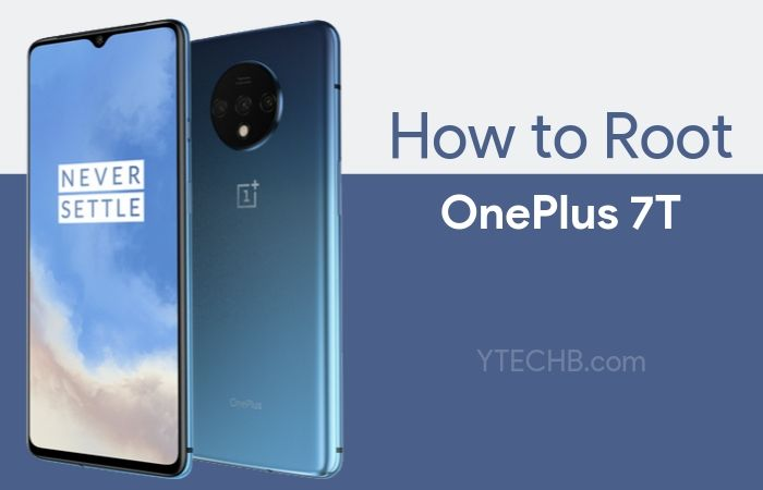 how to root oneplus 7t
