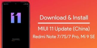 miui 11 stable for redmi note 7 pro china