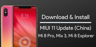 miui 11 update for mi 8 pro and mi mix 3