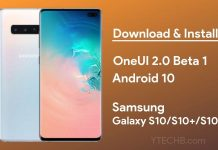 samsung galaxy s10 Android 10 oneui 2.0 update