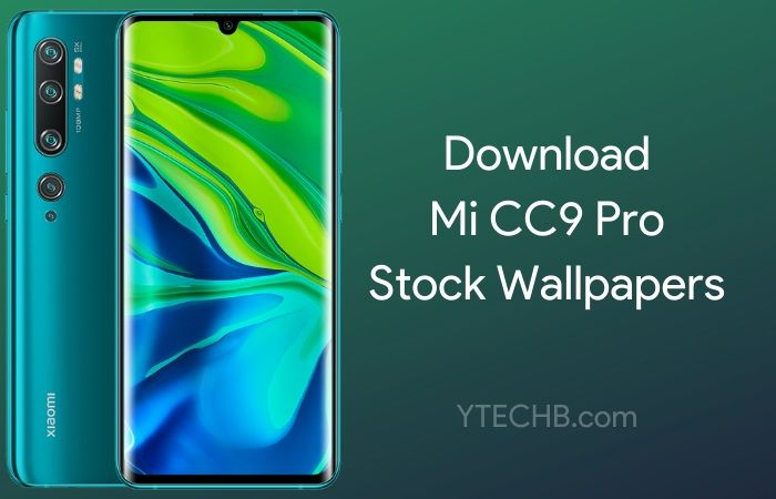 Download Mi CC9 Pro Stock Wallpapers [FHD+]