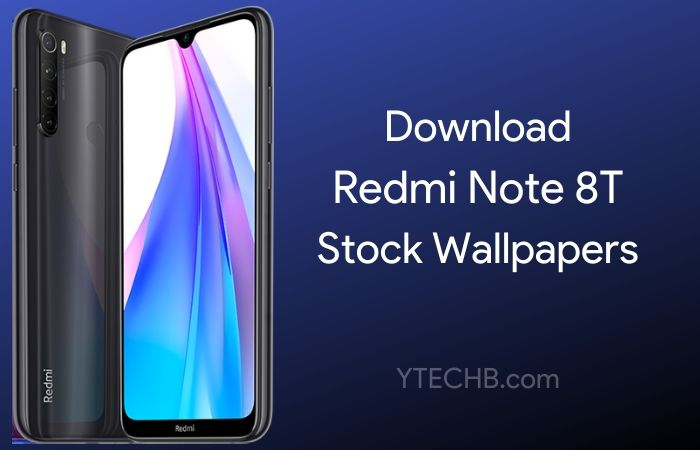 Download Redmi Note 8T Stock Wallpapers [FHD+]