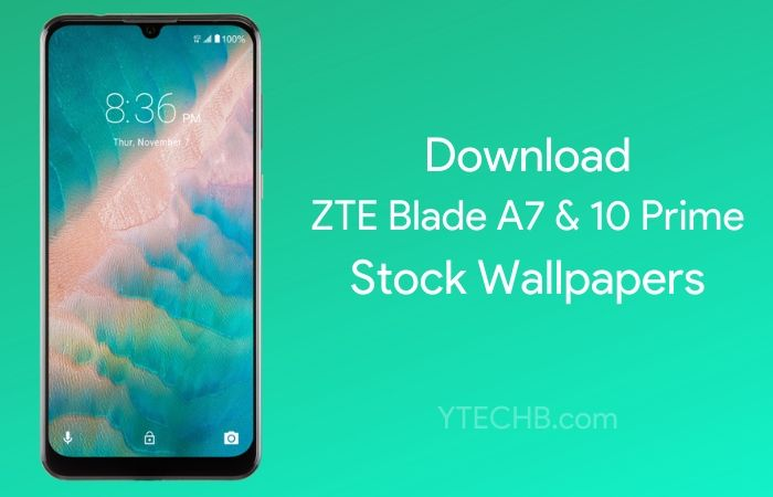 Download ZTE Blade 10 Prime & Blade A7 Prime Stock Wallpapers [FHD+]