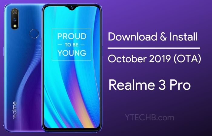 System-Wide Dark Mode arrives on Realme 3 Pro with October Security Patch [with Download Link]