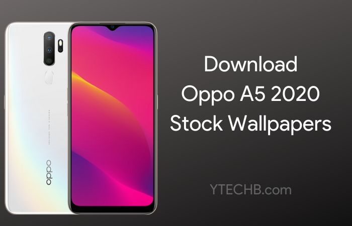 Download Oppo A5 2020 Stock Wallpapers [FHD+]