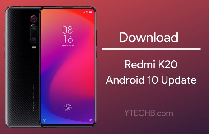 Android 10 Update for Redmi K20