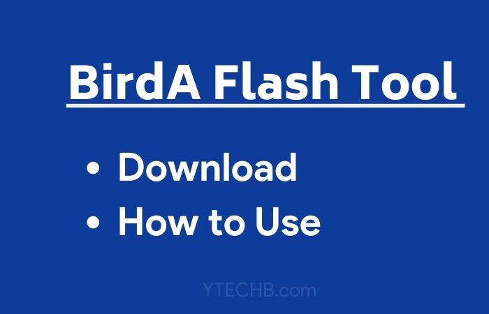 BirdA Flash Tool