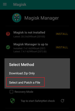 How to root Samsung a70s
