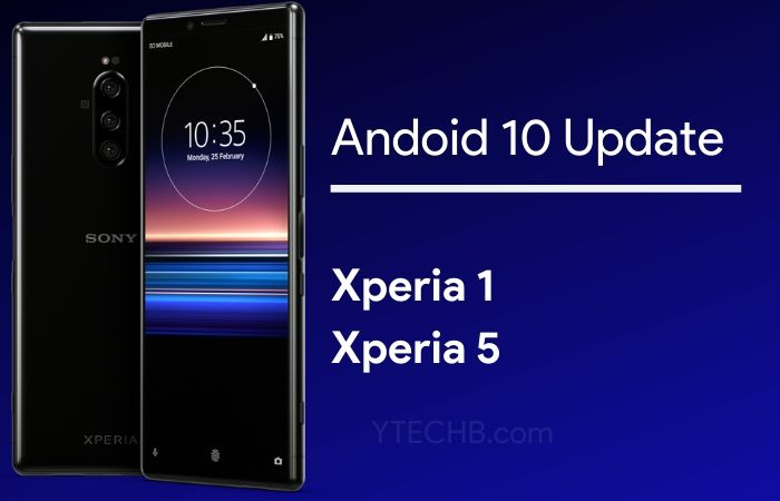 Sony Xperia 1 Android 10 update